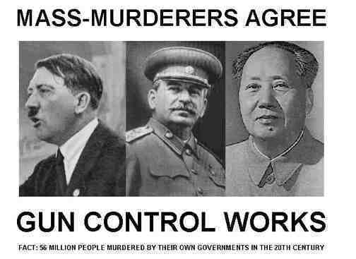 guncont Mass Murderers Agree: Gun Control Works