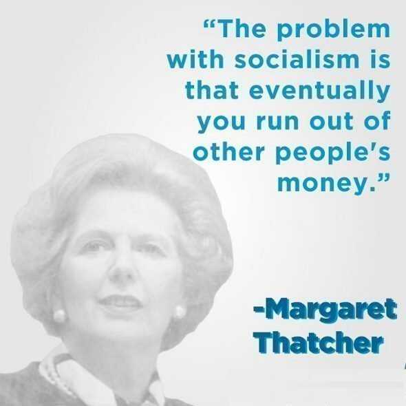 the problem with socialism margaret thatcher