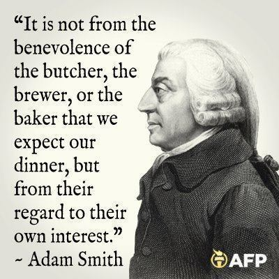 adam smith It Is Not from the Benevolence of the Butcher