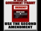 In Case of Government Tyranny Use the Second Amendment