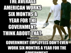 The Average American Works Six Months a Year for the Government.