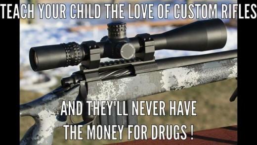 teach your child the love of custom rifles 520x293 Home