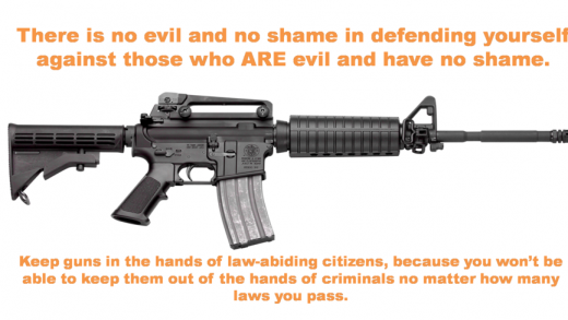 there is no evil and no shame in defending yourself 520x293 Home