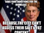 Bans Food Donation for the Homeless