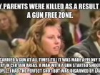 My Parents Were Killed as a Result of a Gun Free Zone