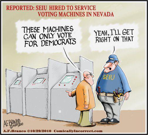 SEIU Hired to Service Voting Machines in Nevada