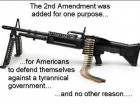 The 2nd Amendment Was Added for One Purpose...