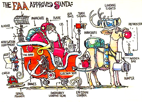 The FAA Approved Santa