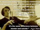 There is No Difference Between Communism and Socialism, Except in the Way of Achieving the Same Ultimate Goal