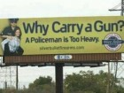 Why Carry a Gun? a Policeman is Too Heavy