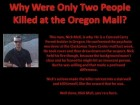 Why Were Only Two People Killed at the Oregon Mall?