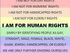 I Am for Human Rights
