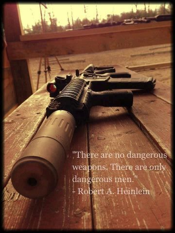 There Are No Dangerous Weapons. There Are Only Dangerous Men.