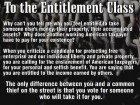 To the Entitlement Class