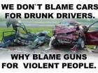 Why Blame Guns for Violent People?