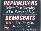 Difference Between Republicans and Democrats