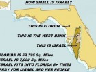 How Small is Israel?