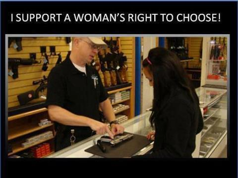 I Support a Women's Right to Choose!