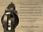 No Free Man Shall Ever Be Debarred the Use of Arms.