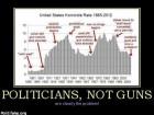 Politicians, Not Guns