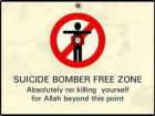 Suicide Bomber Free Zone