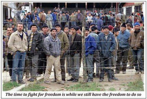 The Time to Fight for Freedom is While We Still Have the Freedom to Do So