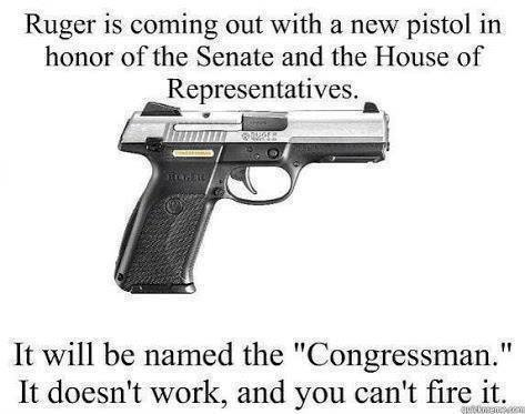 Ruger Is Coming out with a New Pistol in Honor of the Senate and the House of Representative