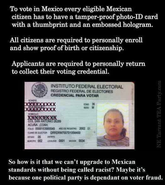 So How Is It That We Can't Upgrade to Mexican Standards Without Being Called Racist?