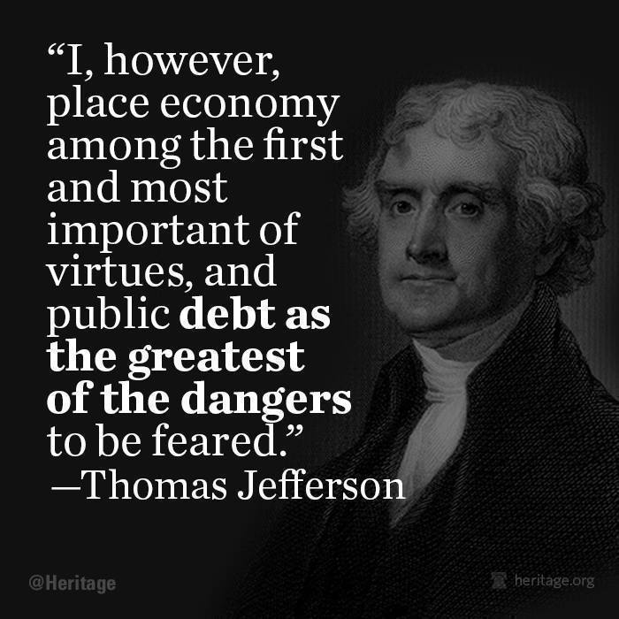 Debt as the Greatest of the Dangers