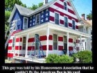 This Guy Was Told by His Homeowners Association That He Couldn't Fly the American Flag in His Yard.