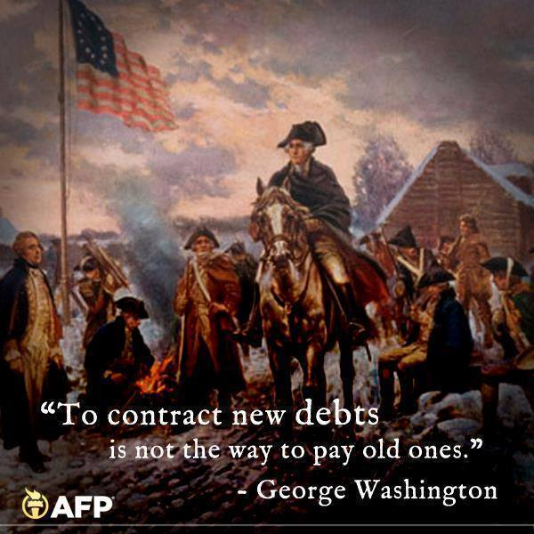 To Contract New Debts Is Not the Way to Pay Old Ones