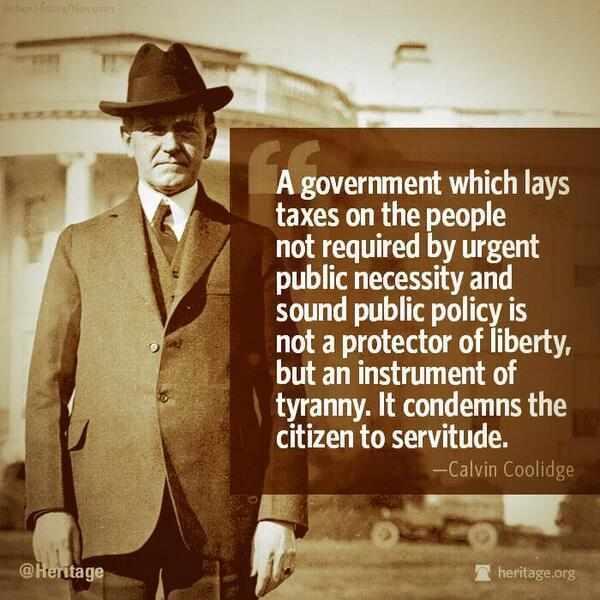a-government-which-lays-taxes-on-the-people-not-required-by-urgent-public-necessity-and-sound-public-policy-is-not-a-protector-of-liberty