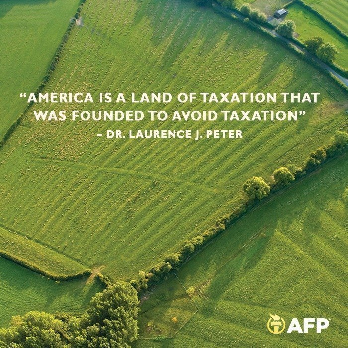 america-is-a-land-of-taxation-that-was-founded-to-avoid-taxation
