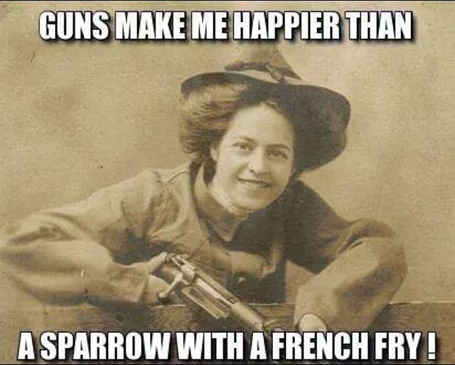 guns-make-me-happier-than-a-sparrow-with-a-french-fry