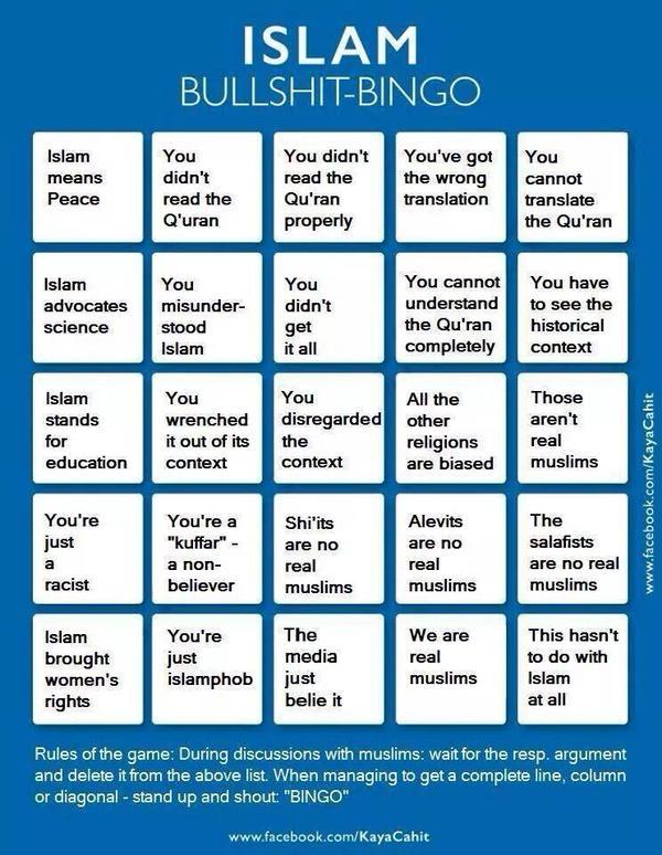 islamic-bullshit-bingo