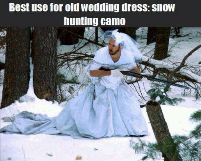 best-use-for-an-old-wedding-dress-snow-hunting-camo