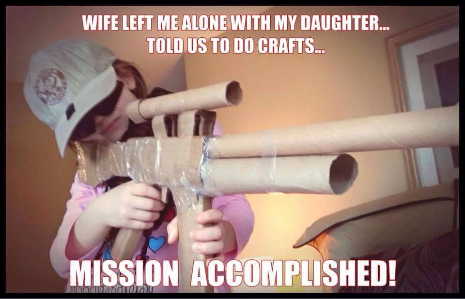 wife-left-me-alone-with-my-daughter-told-us-to-do-crafts